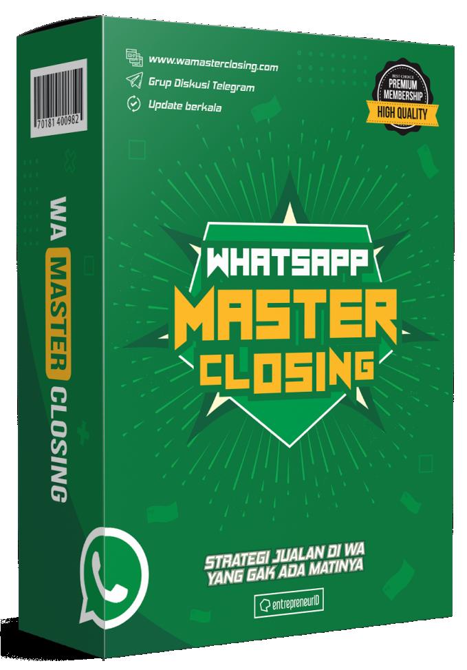 whatsapp master closing
